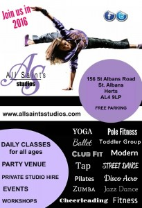 All Saints Studios – Dance and Fitness Classes and Party Venue