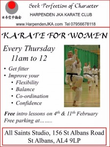 Karate for Women in St Albans