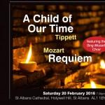 Hertfordshire Chorus - Tippett and Mozart