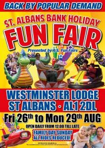 St Albans Bank Holiday Funfair