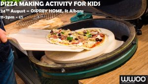 Pizza Making activity for children