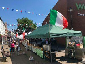 Italian 'Pop Up' Food Market