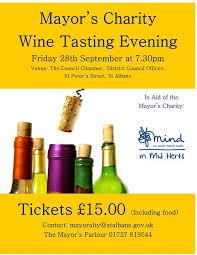 Mayor's Charity Wine Tasting Evening